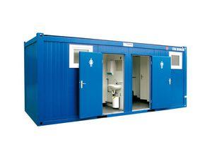 logistique de chantier   douche 4 cabines - Logistique de chantier