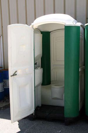 logistique de chantier   wc chimique + lave main - Logistique de chantier