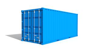logistique de chantier   contenaire 20 pieds - Logistique de chantier