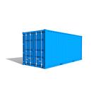 Louer logistique de chantier   contenaire 20 pieds au meilleur prix